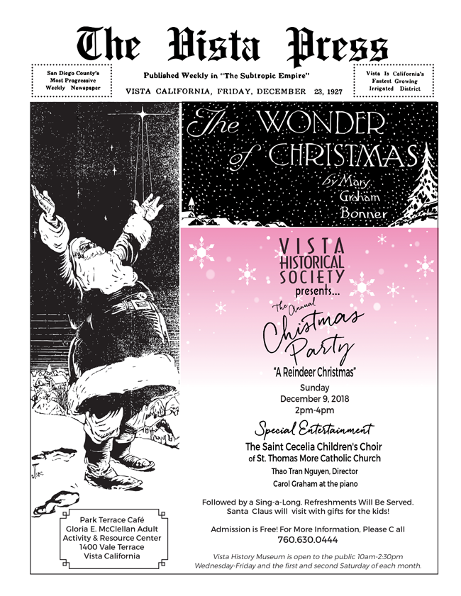 vhs 2018 christmas party flyer final